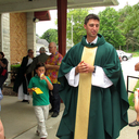 Fr. Zach Weber's first mass @ Corpus Christi photo album thumbnail 3